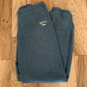 Blue/Gray Roots sweatpants